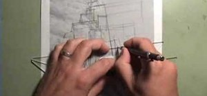 Design and draw an architectural cliff house
