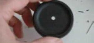 Make a pinhole body cap