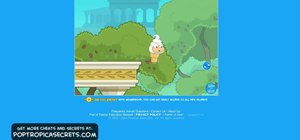 Get through the first part of Mythology Island on Poptropica