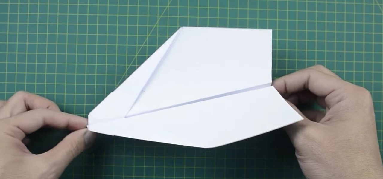Make a Paper Plane That Flies Over 100 Feet