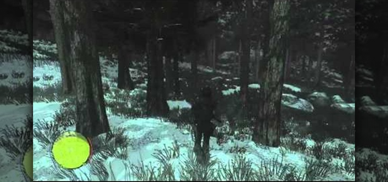 How To Find The First Sasquatch In Red Dead Redemption Undead