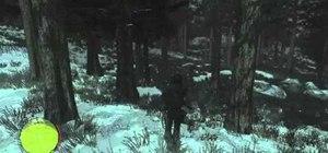 Find the first Sasquatch in Red Dead Redemption: Undead Nightmare