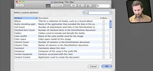 Tag files using Spotlight comments on OS X