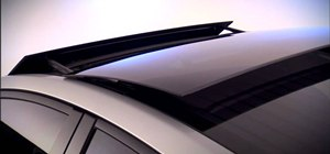 Operate the solar powered vent system in a 2010 Toyota Prius