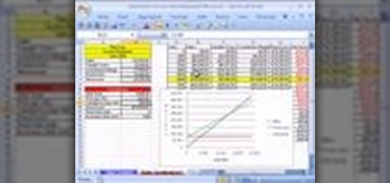 How To Create A Contribution Margin Income Statement In Excel « Microsoft  Office :: WonderHowTo