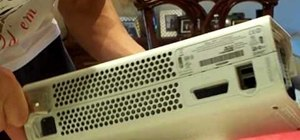 Take apart an Xbox 360 gaming console