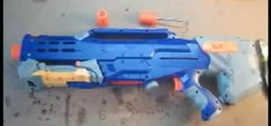Modify a Nerf Longshot CS-6 gun