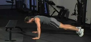 Get key points for proper push ups