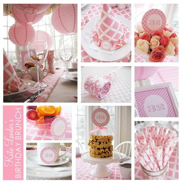 The perfect design for a birthday party, baby shower, or wedding shower