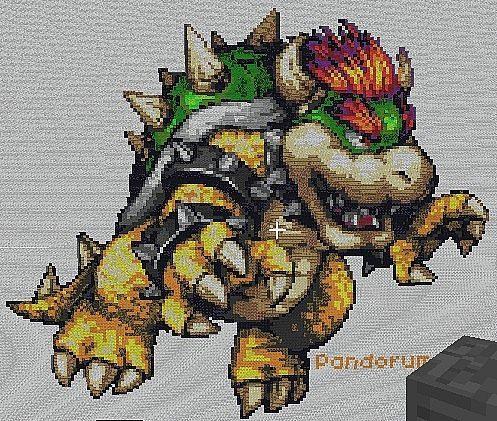 How to Make Pixel Art in Minecraft