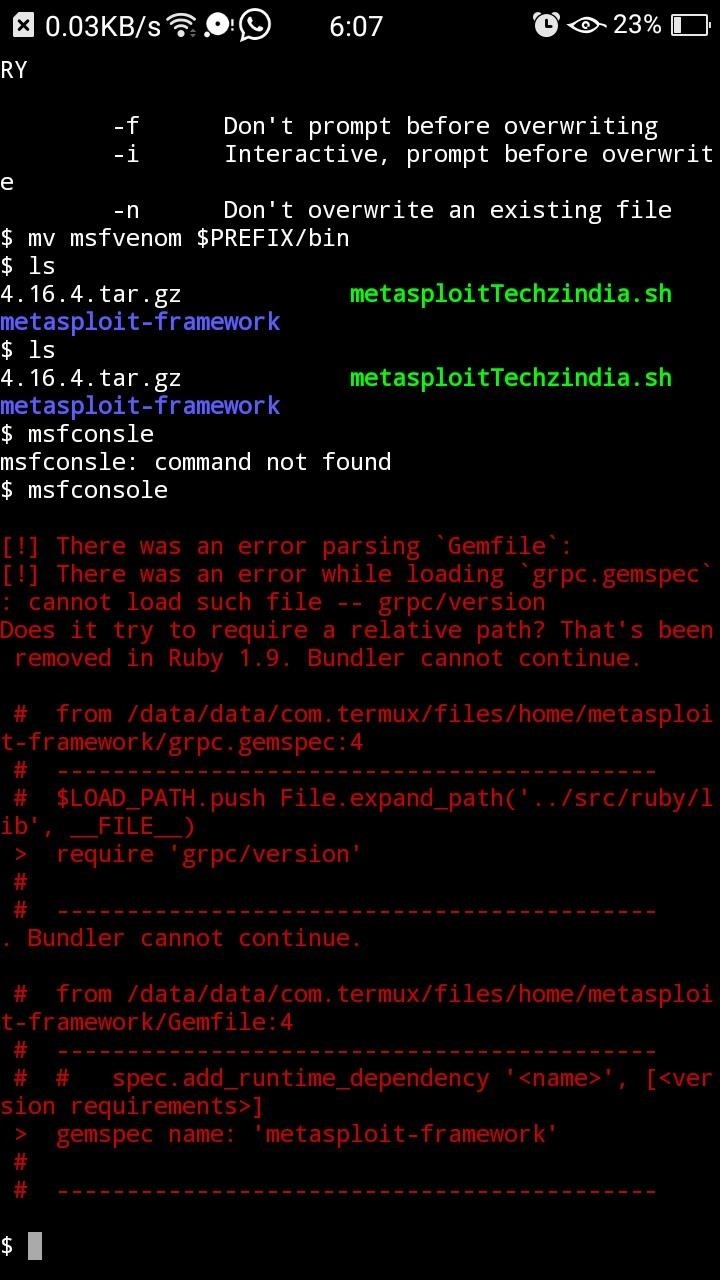 How to: Install Metasploit Framework on Android | Part #1 - in