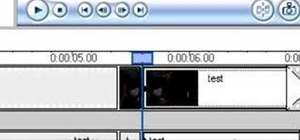 Generate and insert censor tones using Movie Maker