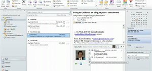 Connect to social networks in Microsoft Outlook 2010