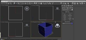 Simulate dust in volume lighting in 3ds Max 2010
