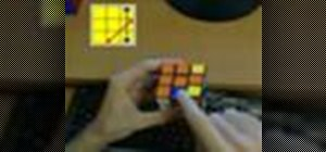Solve the Rubik's Cube blindfolded
