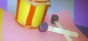 Make a toy drum