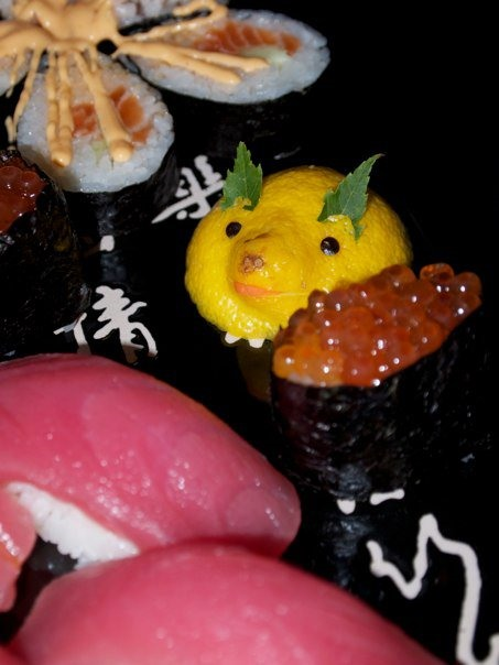 Food Photography Challenge: Sushi Smile