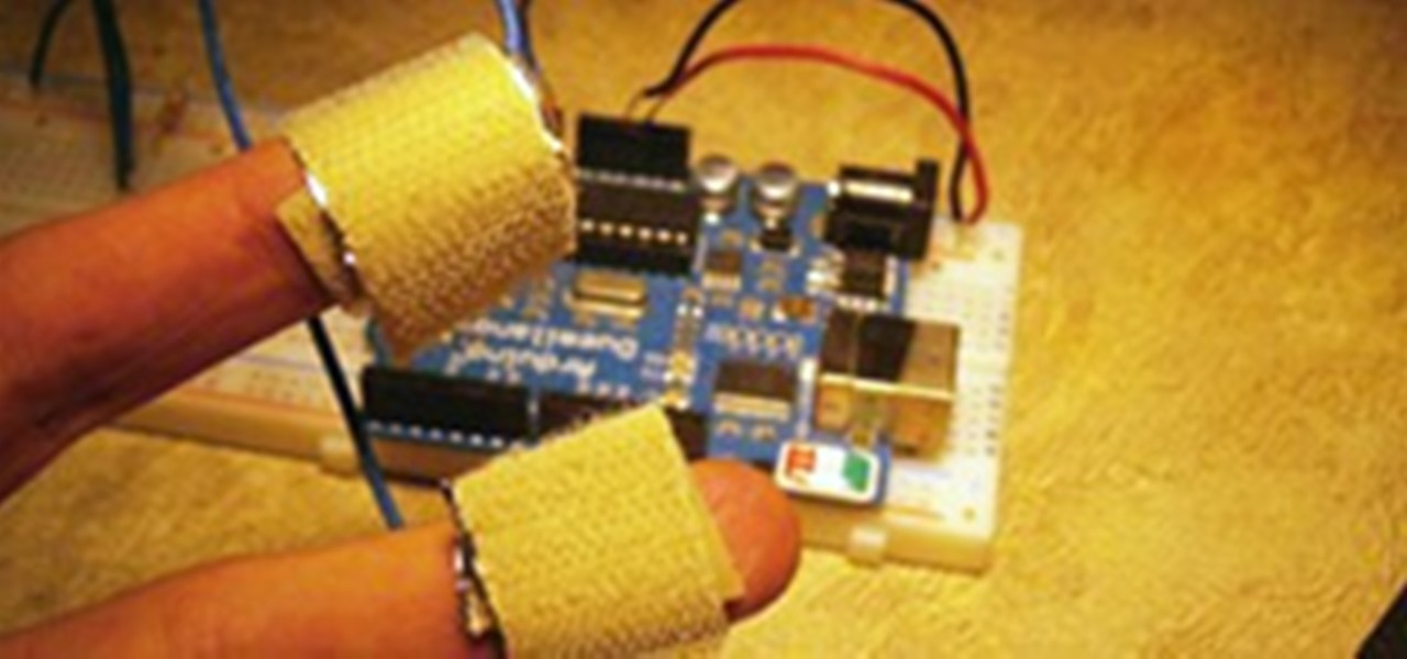 DIY Polygraph Machine: Detect Lies with Tin Foil, Wire and
