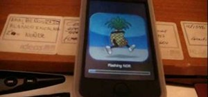Jailbreak an iPod Touch 2G with Redsn0w