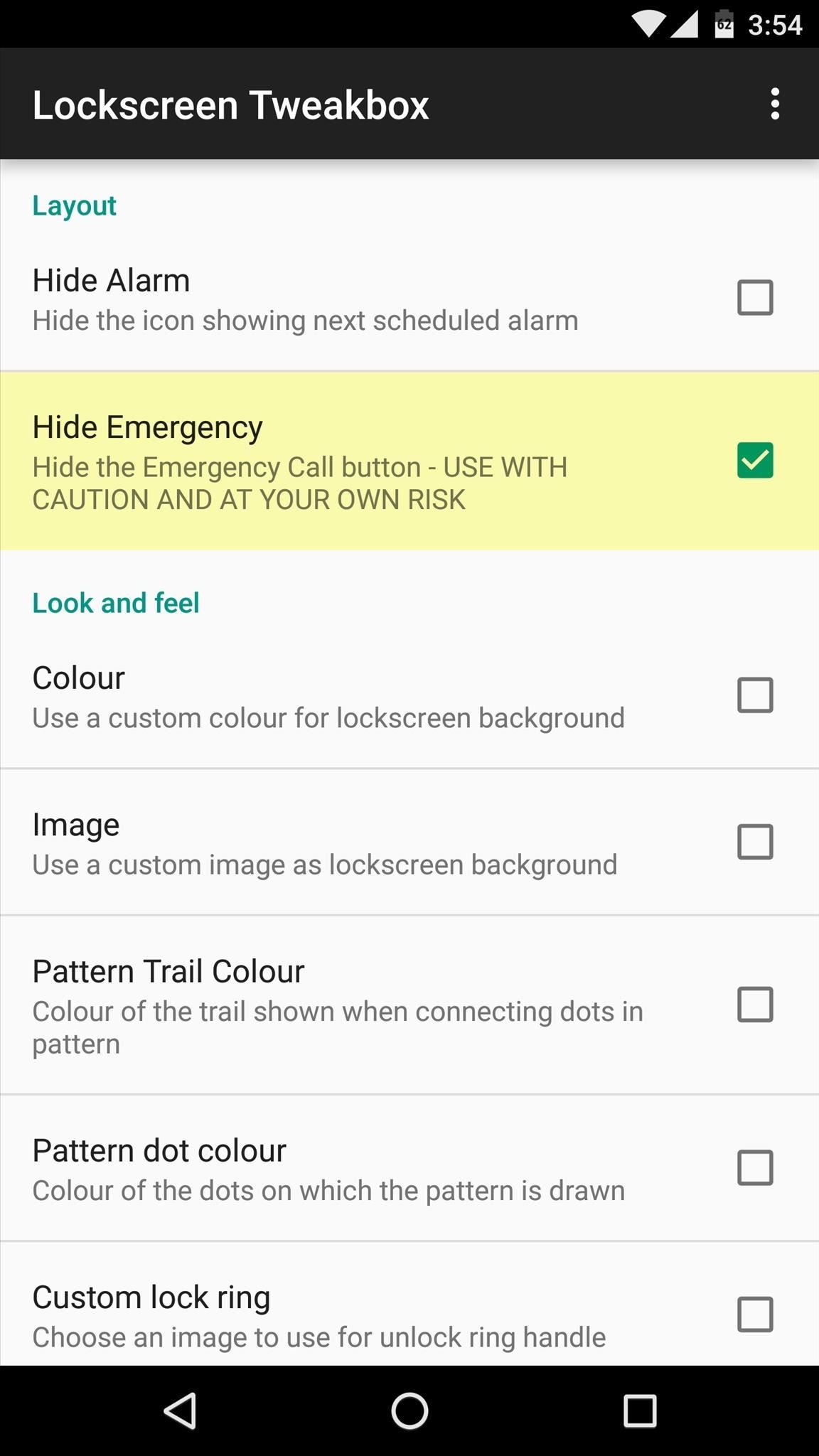 How to Remove the 'Emergency' Call Button from Your Lock Screen