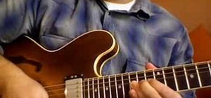 Play a guitar solo for the intermediate guitarist