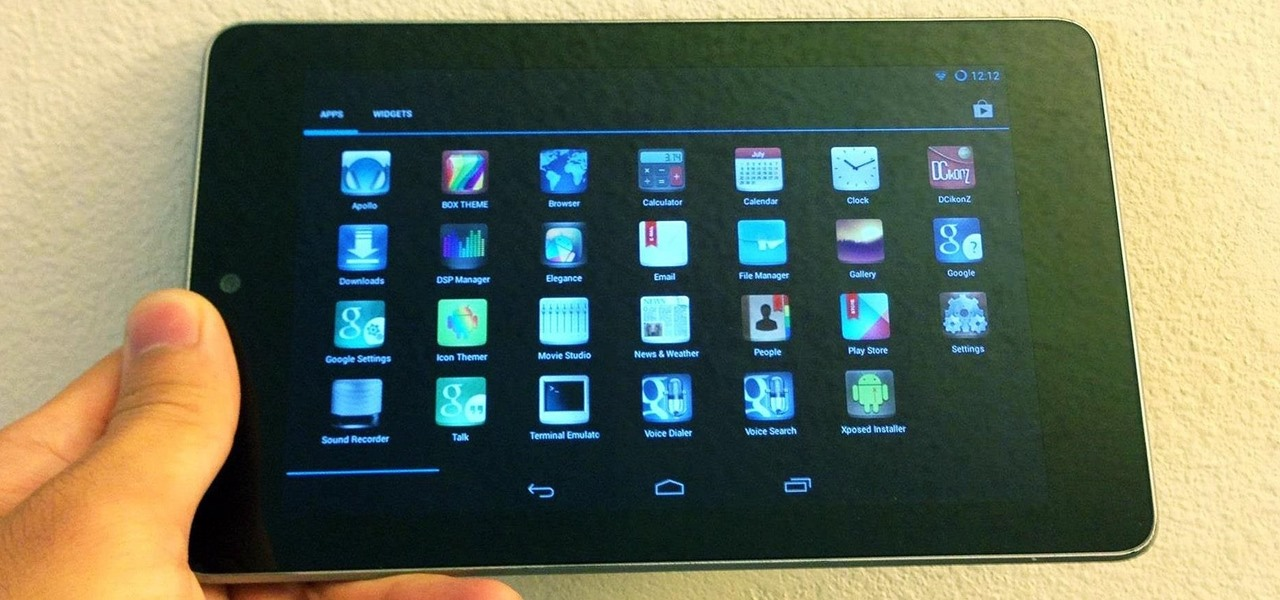 how to create icon on android tablet