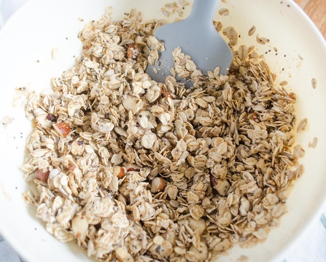 how to make granola cereal at home