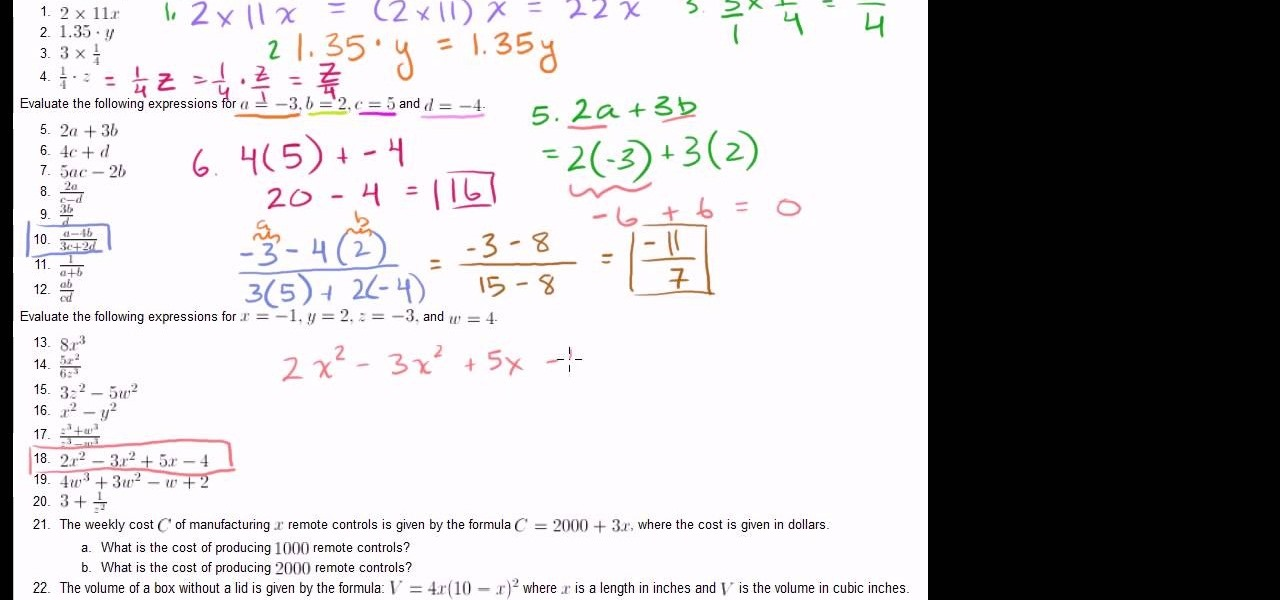 Homework help simplifying expressions