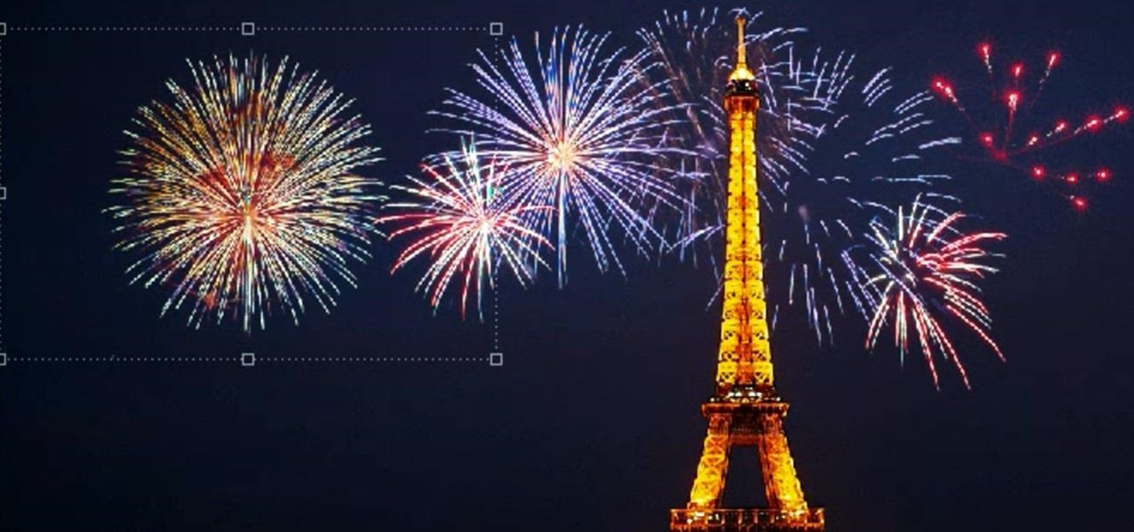 How To Add Fireworks To Any Night Picture In Photoshop
