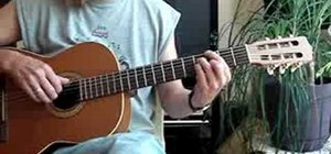 Modify major barre chords