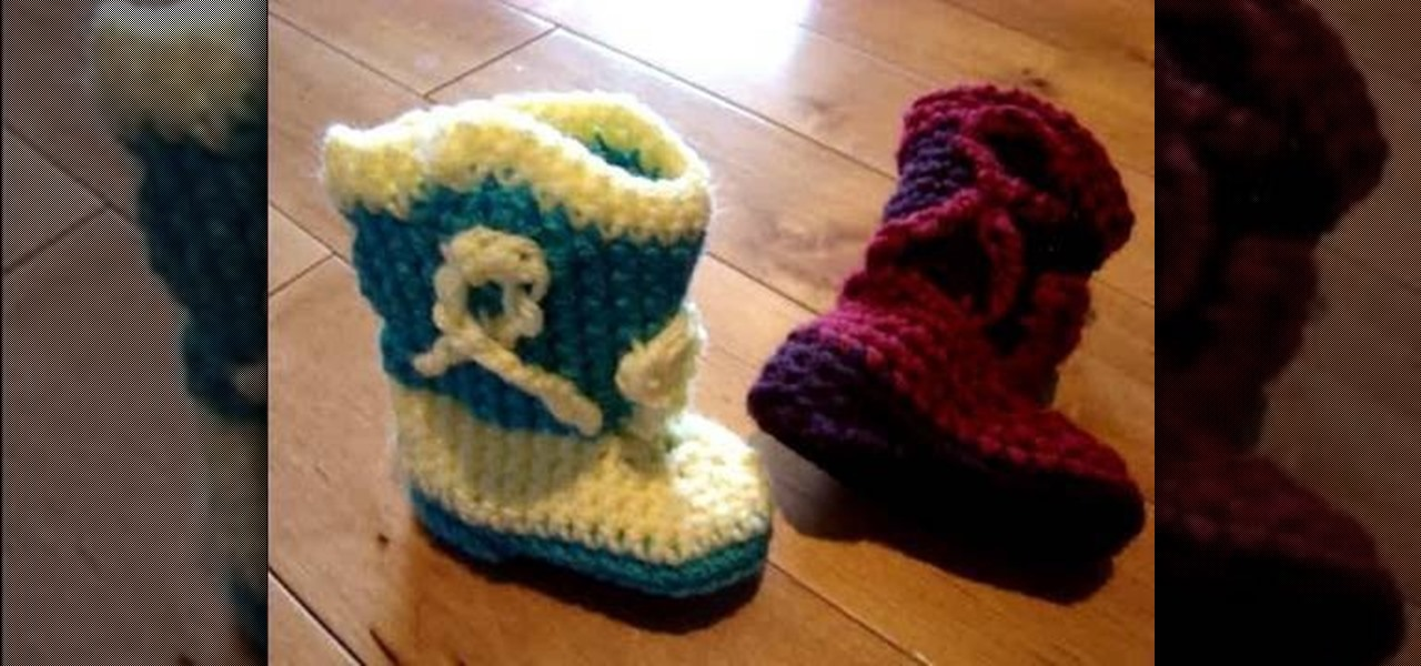 Knitting Pattern Baby Cowboy Booties : How to Crochet baby cowboy booties   Knitting & Crochet ...