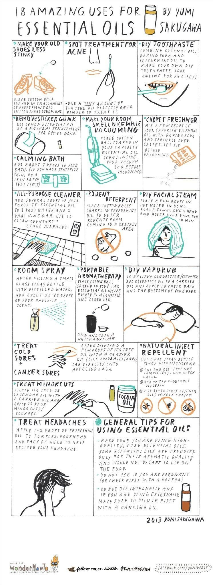 18 Amazing Uses for Essential Oils