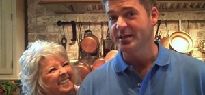 Prepare delicious meatloaf with Paula Deen