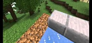 Make a mini golf course in your Minecraft world