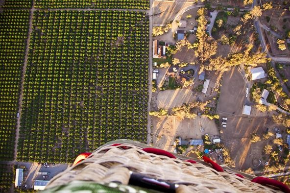 Bird's Eye View Challenge: Countryside Ballooning