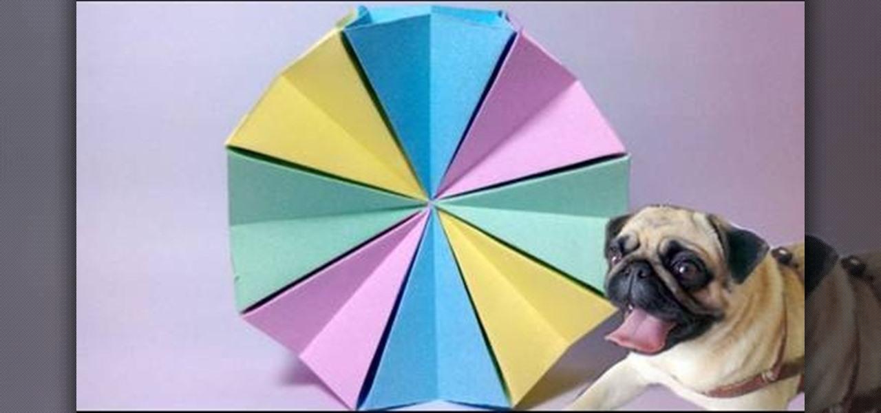 Origami Circle How to fold a modular origami magic circle « origami