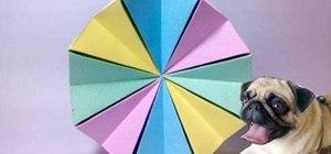 Fold a modular origami magic circle