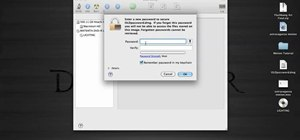 Password protect a folder in Snow Leopard on your Mac