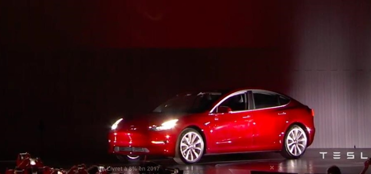 What Elon Musk Didn't Say at the Tesla Model 3 Launch Party