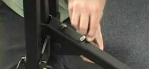 Assemble a SportRack two bike wheel mount bike rack