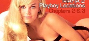 "Find the Playboy locations to earn the ""Ladies' Man"" achievement in Mafia II"