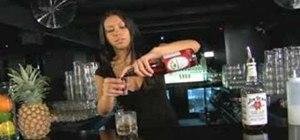 Mix a Bourbon Daisy cocktail