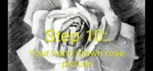 Easily draw a rose for beginners