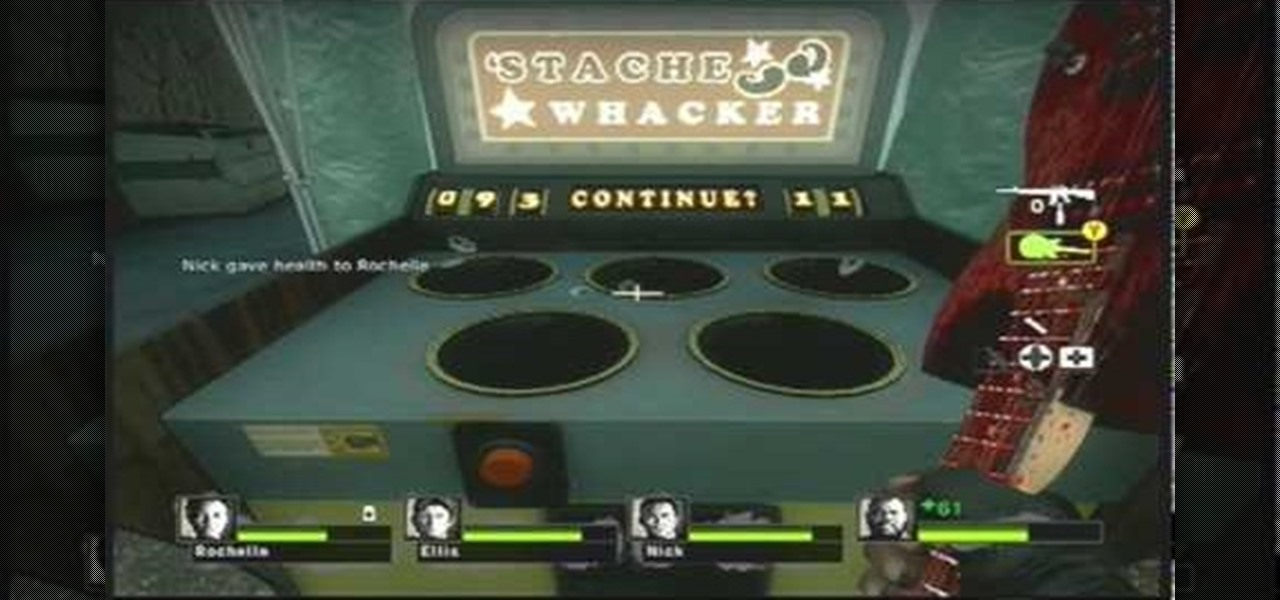 How to Get the Stache Whacker achievement in Left 4 Dead 2 « Xbox