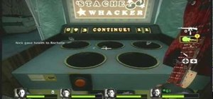 Get the Stache Whacker achievement in Left 4 Dead 2