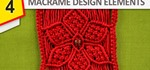 Design Elements - Macrame Flowers