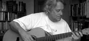 "Play ""High Tea"" by Willy Taylor on acoustic guitar"