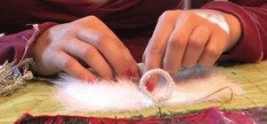 Make an angel Christmas ornament