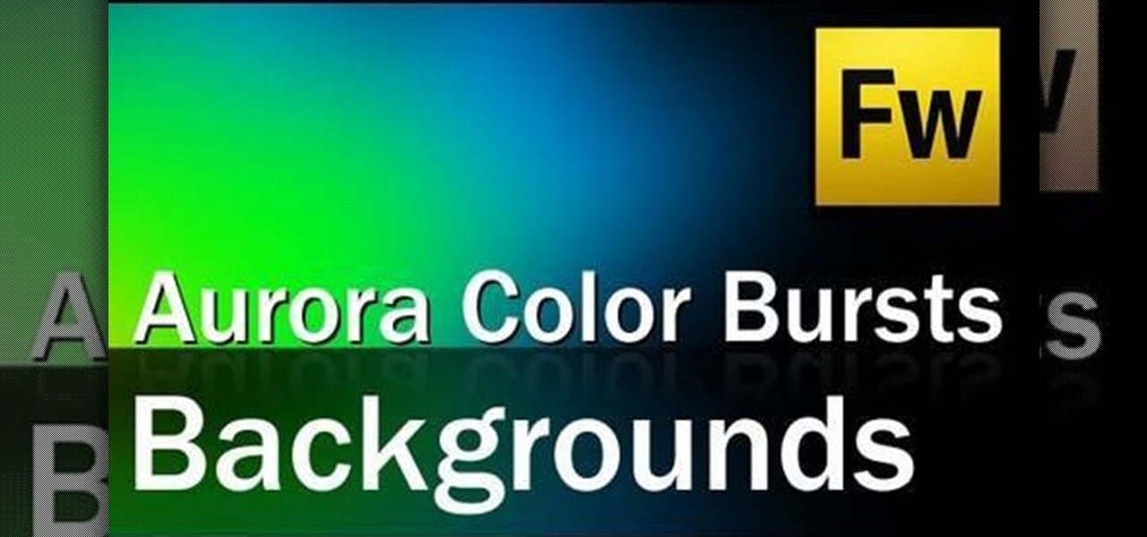 How to Create an aurora color burst background for your websites in