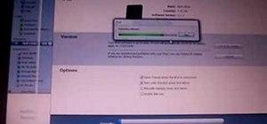 Restore your iPod Nano